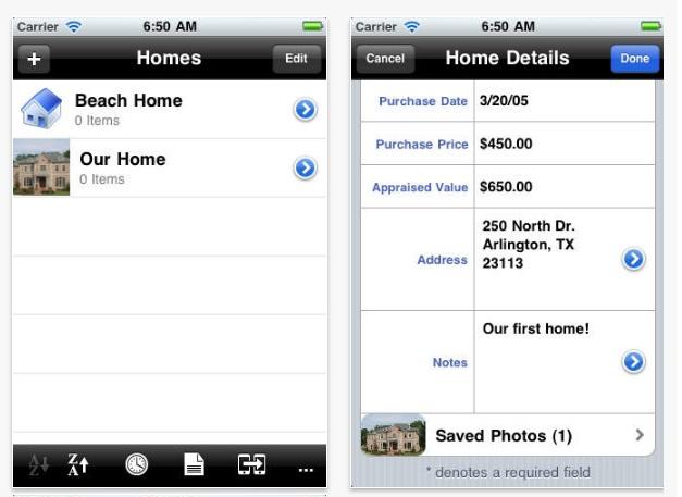 Home Maintenance App by POJO