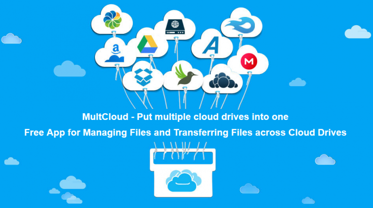 MultCloud - Manage Files Between Cloud Storage
