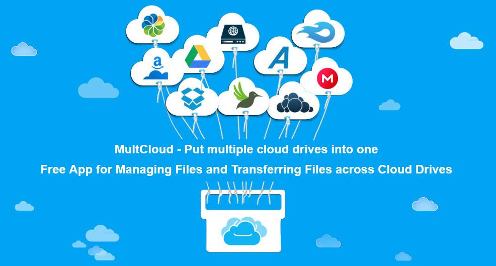MultCloud - Manage Files Between Cloud Storage