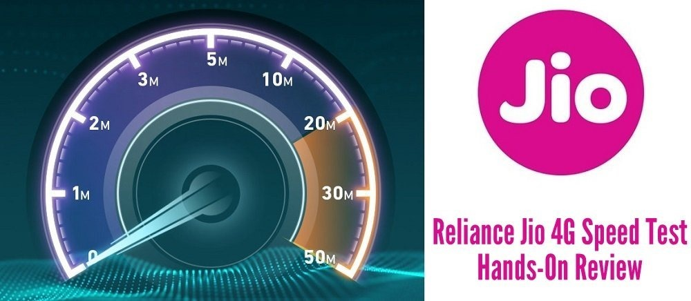Reliance Jio Speet Test