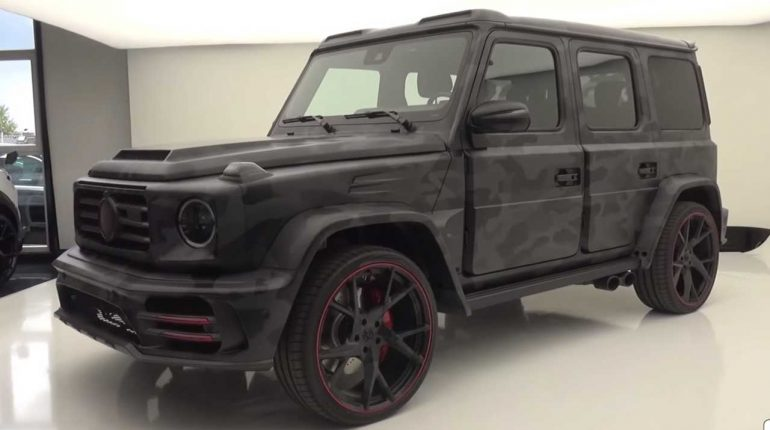 Ludicrous Mercedes-AMG G63 By Mansory Detailed On Video – Motor1.com