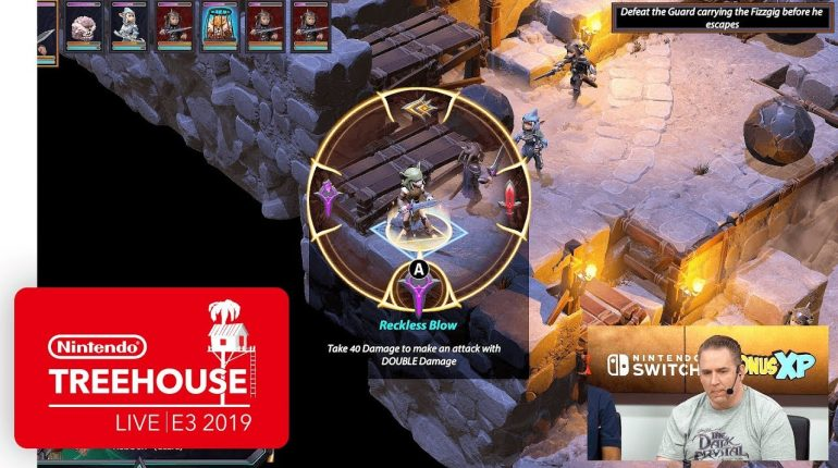 The Dark Crystal: Age of Resistance Tactics Gameplay – Nintendo Treehouse: Live   E3 2019 – Nintendo