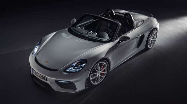 Porsche 718 Cayman GT4 and 718 Spyder: Got The Horses In The Back – Motor1.com