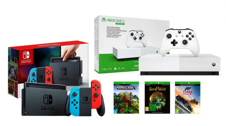Xbox One, Nintendo Switch Bundle Still Selling For $400 – GameSpot