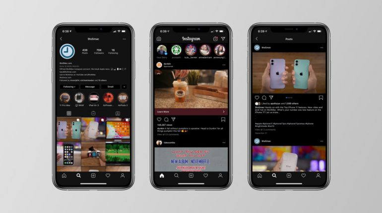 Instagram for iOS updated with support for Dark Mode in iOS 13 – 9to5Mac